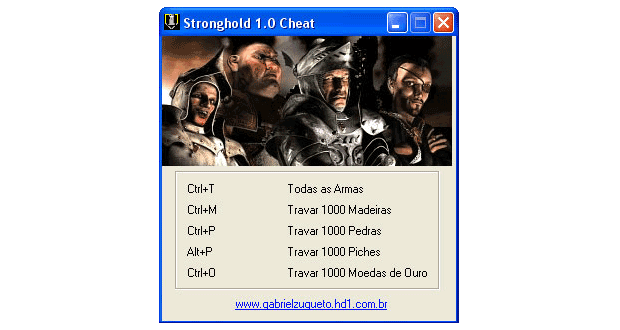 Stronghold Cheat