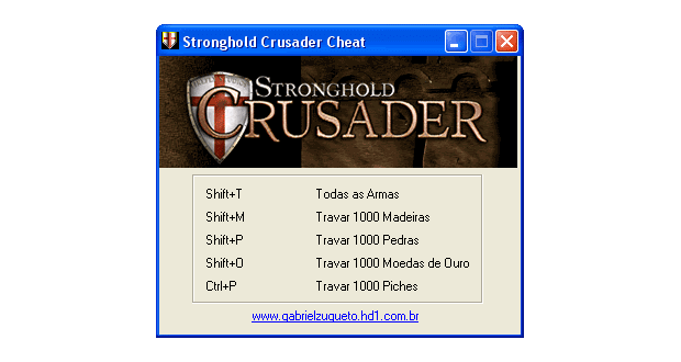 Stronghold Crusader Cheat